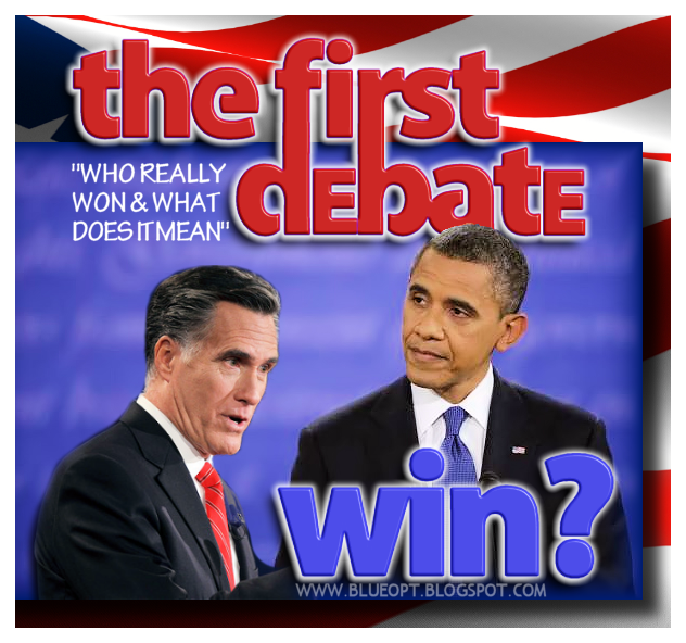 Obama vs Romney 1st Debate