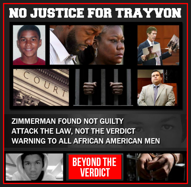 No Justice For Trayvon