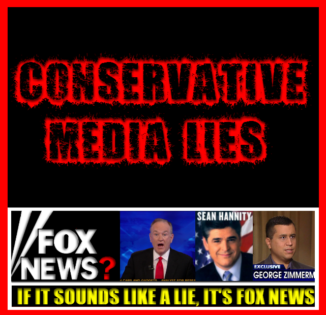 conservative media lies
