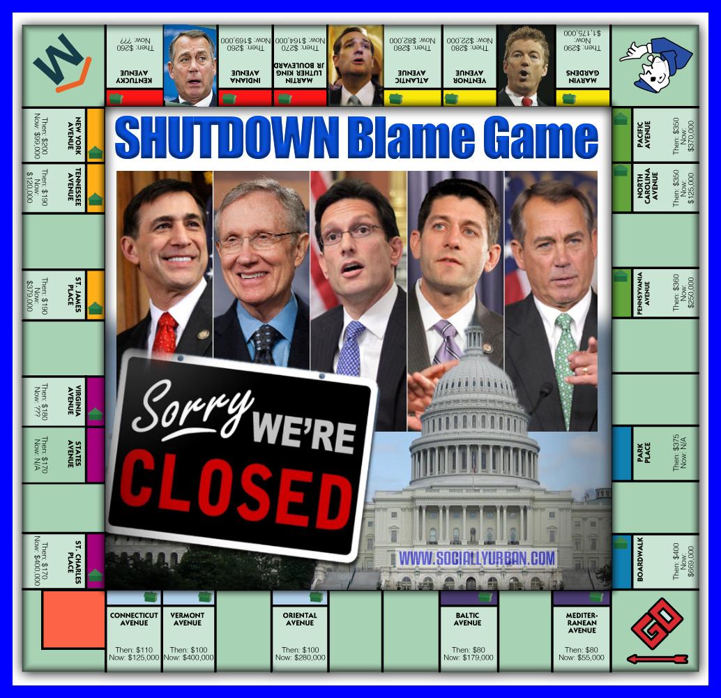 Shutdown Blame Game