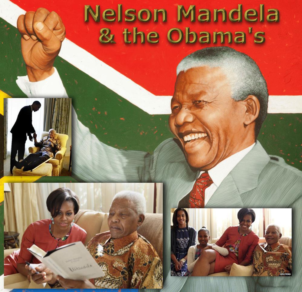 Mandela & Michelle Obama