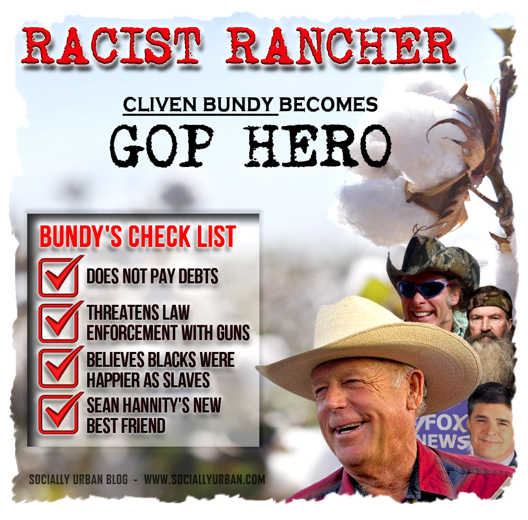 Racist Rancher Becomes A GOP Hero