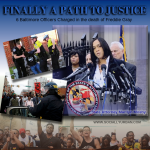 Maryland State Attorney Marilyn Mosley charges 6 officers with the death of Freddie Gray