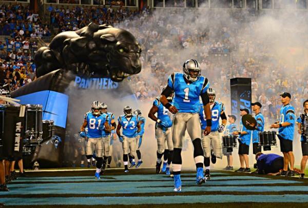 Carolina Panthers NFL team.