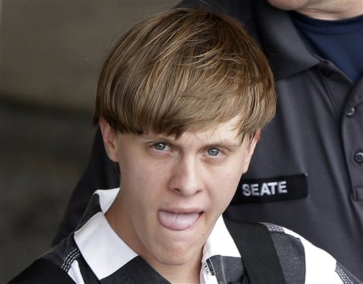 Dylann Storm Roof taken to Cleveland County Courthouse in Shelby, N.C., Thursday, June 18, 2015.