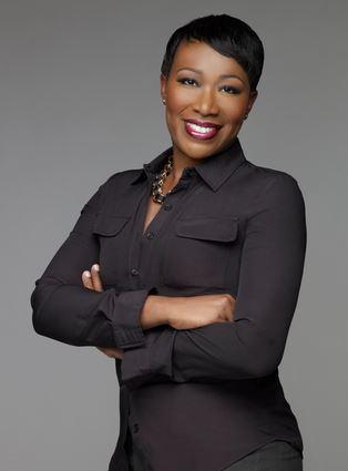 Joy Reid MSNBC So White