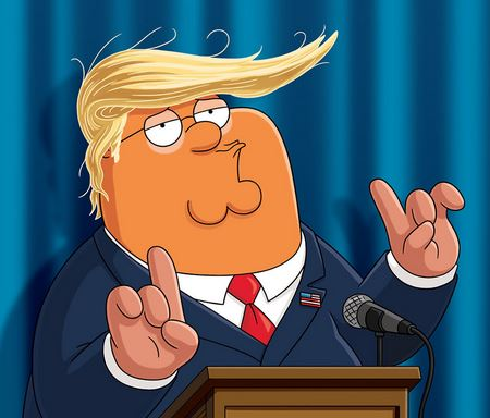 Family Guy as Donald Trump