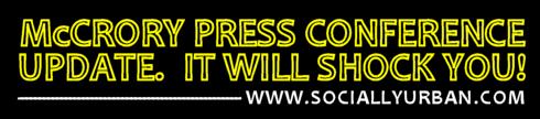 Press Conference McCrory Updte